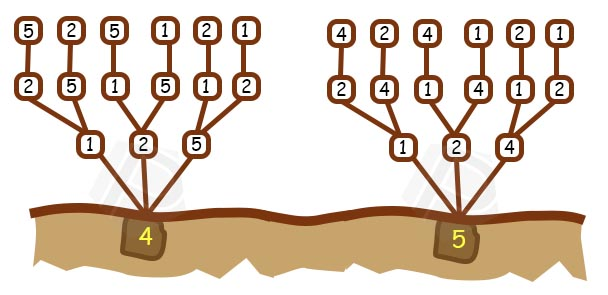 Langkah ke 6 - Pohon Permutasi (Bagian 2)