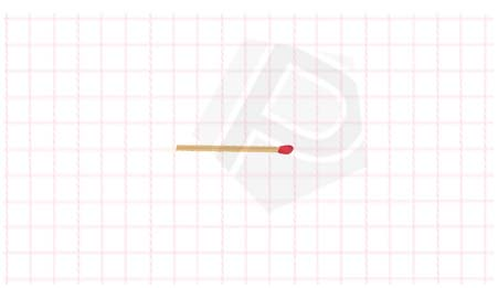 Ilustrasi Vektor Matematika dengan Korek Api