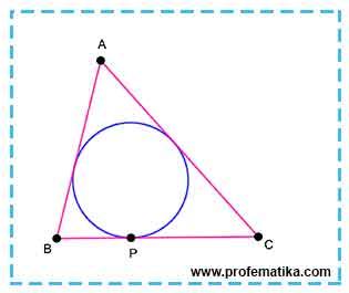 Teorema Segitiga Garis Singgung